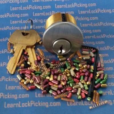 5 pin ultimate practice lock - lock picking