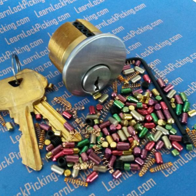 Practice Locks -5 pin ultimate practice lock
