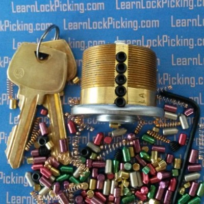 5 pin Ultimate Practice Lock - Lock Picking