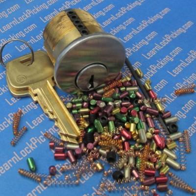 6 pin ultimate challenge practice lock - lock picking