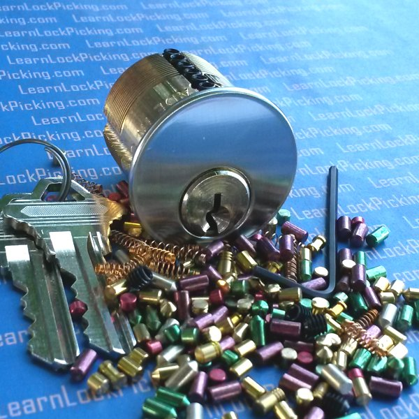 7 Pin Ultimate Adversary Practice Lock - LearnLockPicking.com