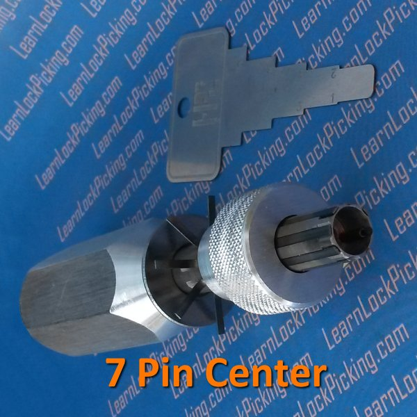 Tubular Lock Pick 7 Pin Center Learnlockpicking Com