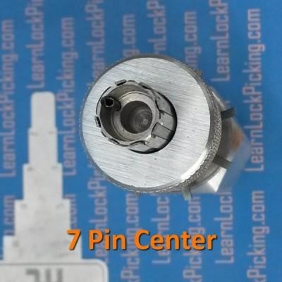 7 pin centered tubular lock pick