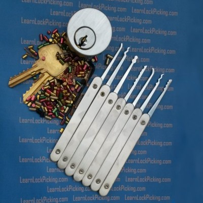 Ultimate Challenge Practice Lock Combo Kit with Lock Picks