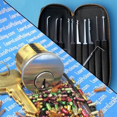 6 pin lock picking practice lock