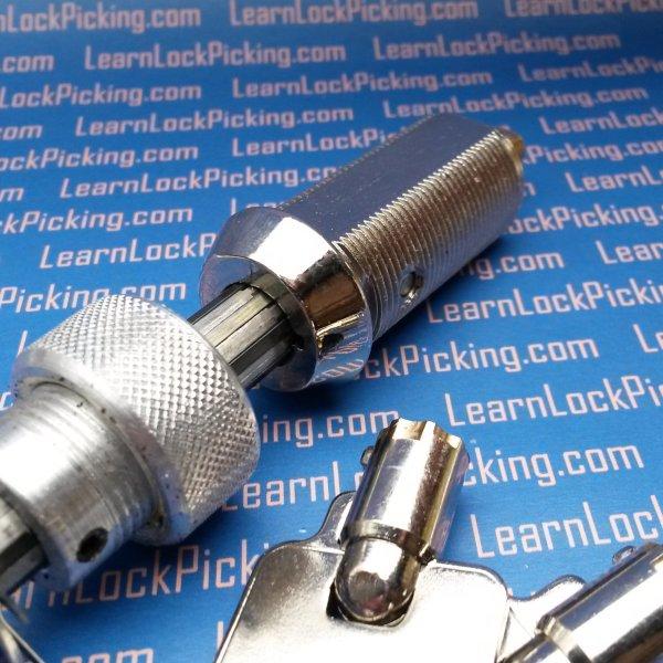 Tubular Practice Lock 7 Pin Center Learnlockpicking Com