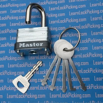 warded lock picks and laminated lock