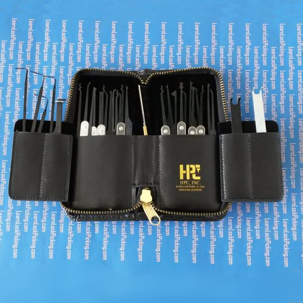 Thirty Two Piece Superior Lock Pick Set Learnlockpicking Com