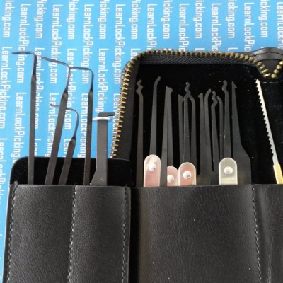 32 piece lock pick set