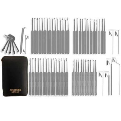 SouthOrd 62 piece lock pick set