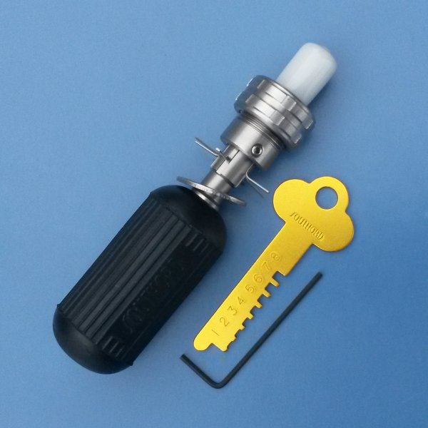 Tubular Lock Pick 7 Pin Center Learnlockpicking Com