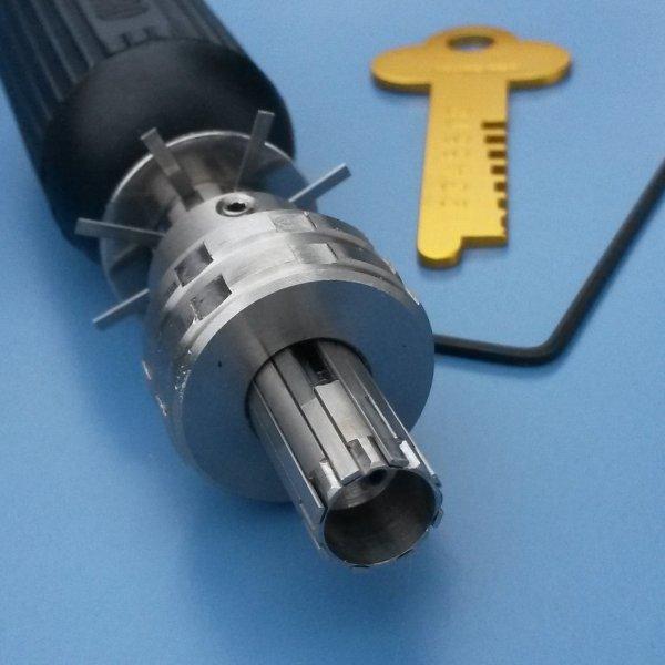 Lock Pick Tools >> 8 Pin Tubular Lock Pick - LearnLockPicking.com