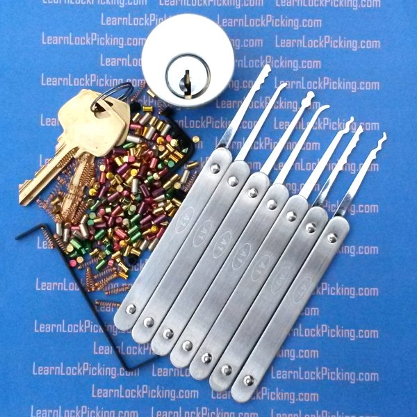 6 Pin All In One Lock Picking Training Kit