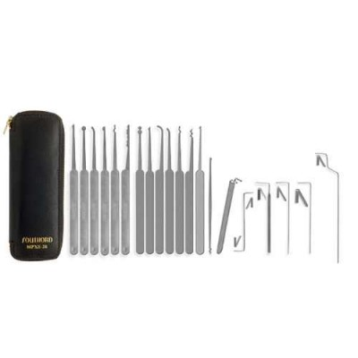 SouthOrd 20 piece lock pick set