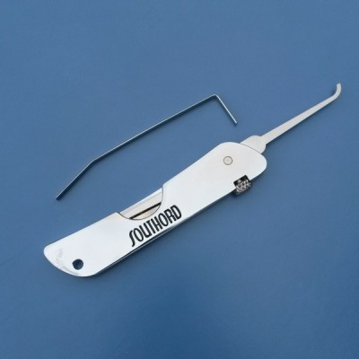 folding pocket lock pick set