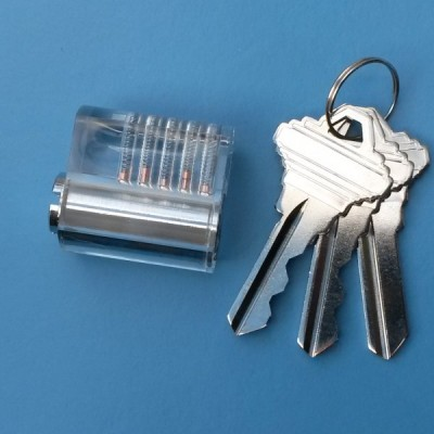 SouthOrd st-35 visible cut away practice lock