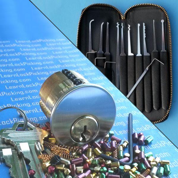 7 Pin All In One Lock Picking Training Kit