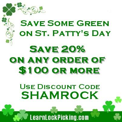 Lock Picking on St. Patrick's Day