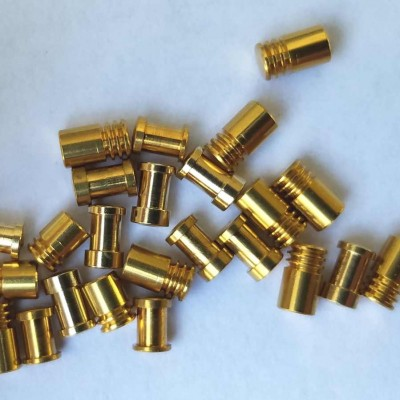 Spool and Serrated Security Lock Pins