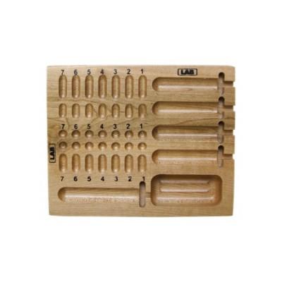 LAB wood pinning tray